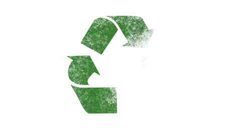 Recycling Symbol Animation