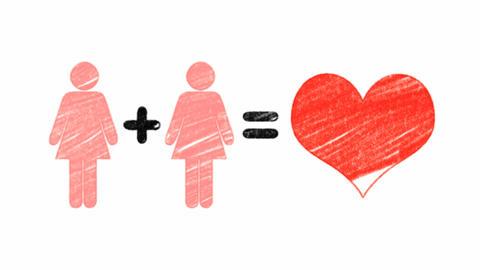 Homosexual Couple Animation