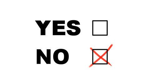 Voting No Animation