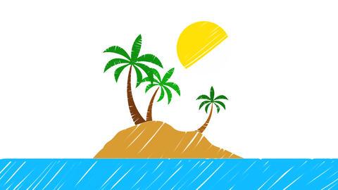 Paradise Island Animation