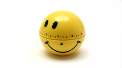 Smiling Timer - Time Lapse stock footage