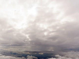 Between clouds. Sicily, Italy. Time Lapse. 320x240 Footage
