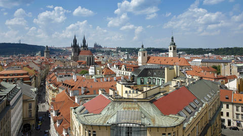 St. Nicholas Church and St. Vitus Cathedral, Pragu Live Action