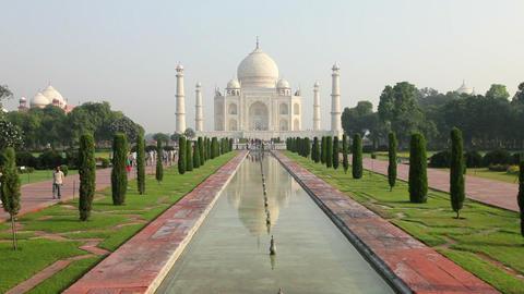 Taj Mahal, UNESCO World Heritage Site, Agra, Uttar Footage