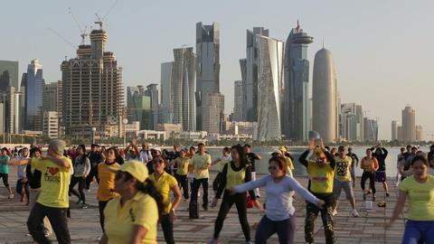 Doha Footage