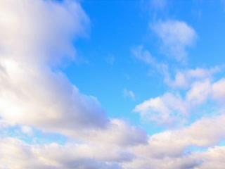 Autumn rain clouds. Time Lapse. 320x240 Footage