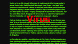 Simple Search Screen Virus stock footage