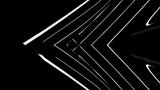 Lines BG B W swirl CU Animation