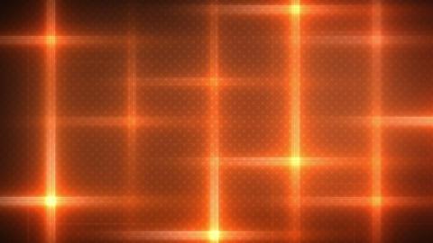 orange flashing lights loop background Animation
