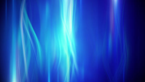 blue flowing lights loop background Animation