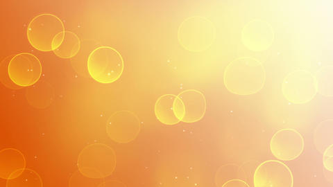 Sunny Bokeh Lights Loop Background stock footage