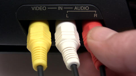 Composite AV Cable Footage