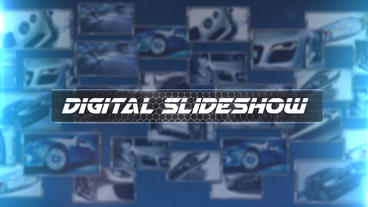 Digital Slideshow - After Effects Template After Effects Template