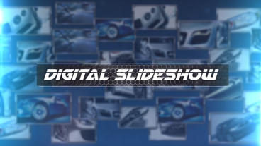 Digital Slideshow - After Effects Template After Effects Project