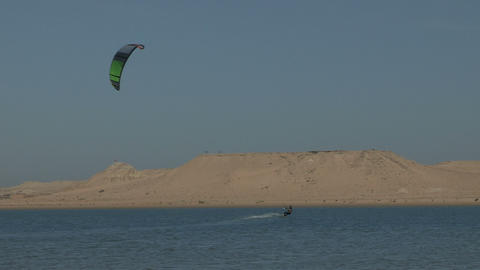 Western Sahara Kite Surfing 2 - FT0030 Footage