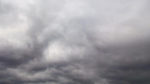 Clouds swirling. Time Lapse Footage
