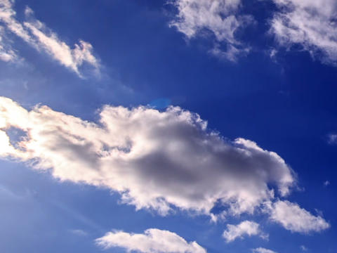Bright clouds in the sky. Time Lapse. 640x480 Footage