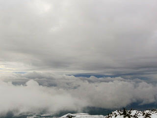 Between clouds. Time Lapse. 320x240 Footage