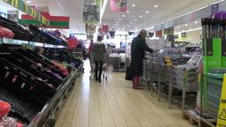 Supermarket Shopping 2 Footage