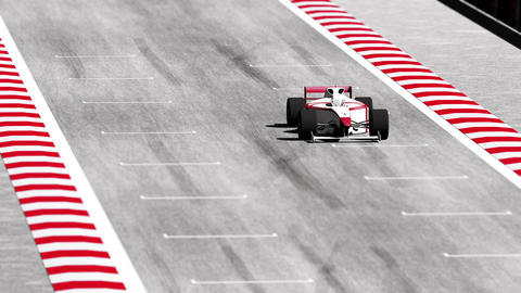 Formula 1 Car on Race Track v7 4 Animation