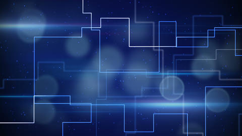 abstract techno lines loopable background Stock Video Footage