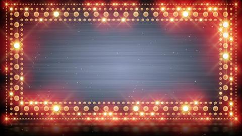 frame of flashing lighting bulbs loop Animation