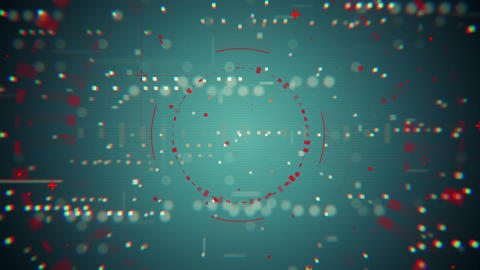 blue red technology texture loopable background Animation