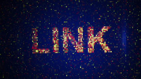 Social Network Words Loopable Animation stock footage