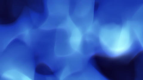 Plasma Fire Blue - Stylized Flame Video Background Animation