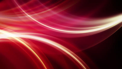 Shorozer Red - Wispy Curves Video Background Loop Animation