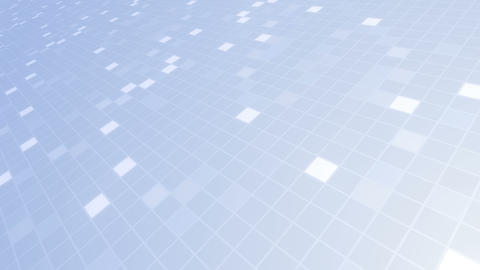 Square Cell Grid light background Bw 1 4k Animation