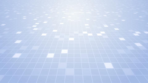 Square Cell Grid Light Background Cw 1 4k stock footage