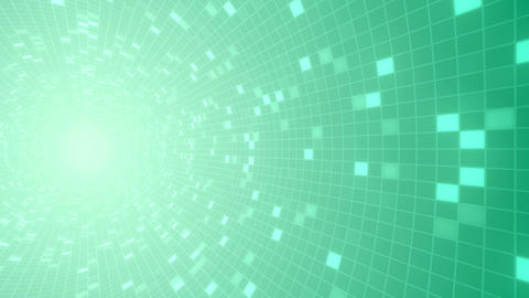 Square Cell Grid light background Ra 3 4k Animation