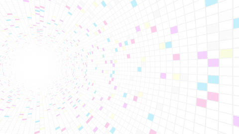 Square Cell Grid light background Rw 2 4k Animation