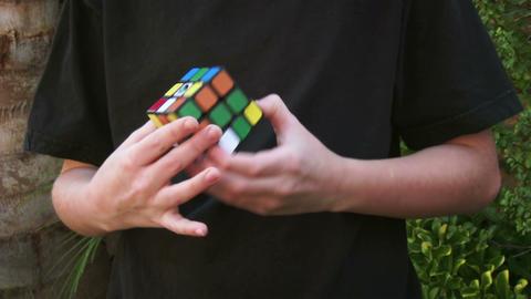 Rubik's Cube Footage