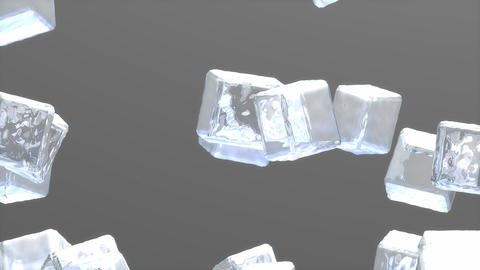 Ice cubes Animation