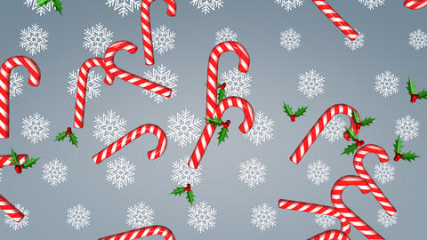 Xmas Background Animation stock footage