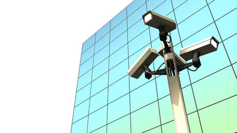 Public surveillance camera Animation