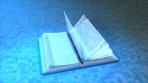 Electronic book Animation