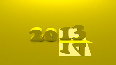 New Year 2014 stock footage