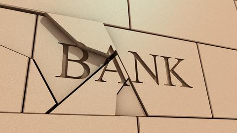 Bank failure Animation
