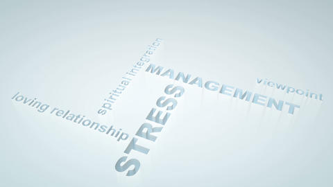 Stress Management stock footage