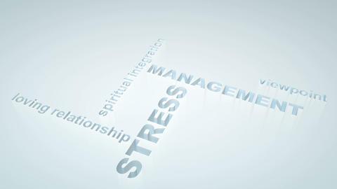 Stress management Animation