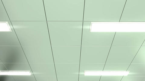 Hospital ceiling POV Animation