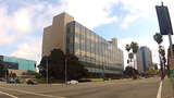 Los Angeles County Courthouse Building- Long Beach stock footage