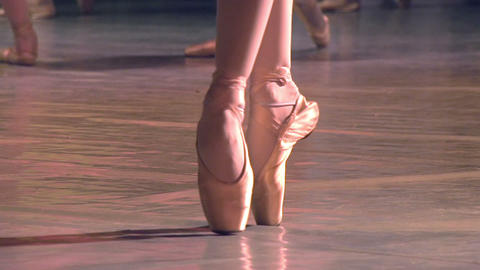 Group of Ballet Dancers Footage