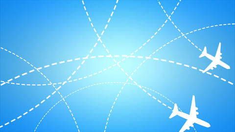 Air Traffic stock footage