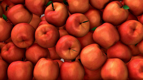 Apple Drop stock footage