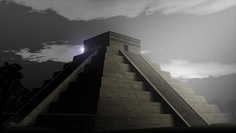 Aztec pyramid Stock Video Footage