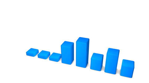 Bar Chart stock footage